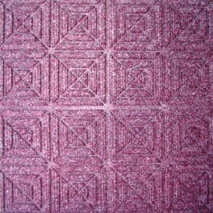 Waterhog Entry Tile Bordeaux Geometric (6mm) - Quantity to be confirmed