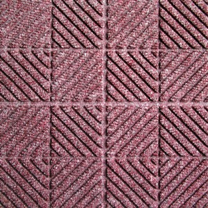 Waterhog Entry Tile Bordeaux Checkbd (11mm) quantity to be confirmed