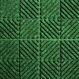 Waterhog Entry Tile Evergreen Checkboard (6mm) - Quantity to be confirmed