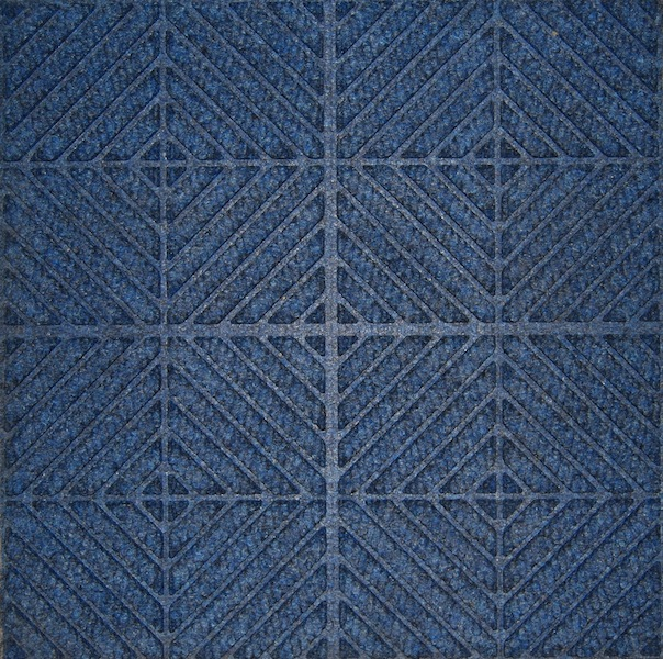 Waterhog Entry Tile Navy Blue Checkb'd (11mm) Quantity to be confirmed