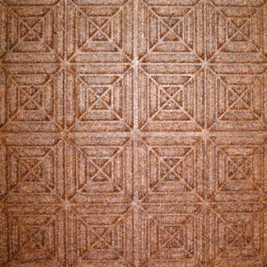 Waterhog Entry Tile Brown Geometric (6mm) - Quantity to be confirmed